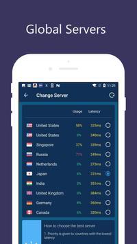 Free VPN Unlimited Proxy - Proxy Master screenshot 1