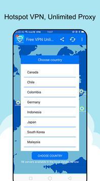 Free VPN Unlimited screenshot 4