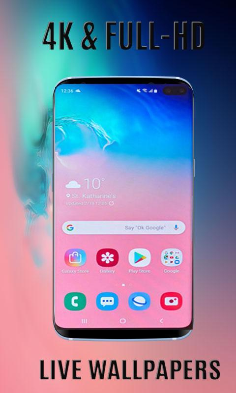 Live Wallpapers Hd 4k For Galaxy Note S10 For Android