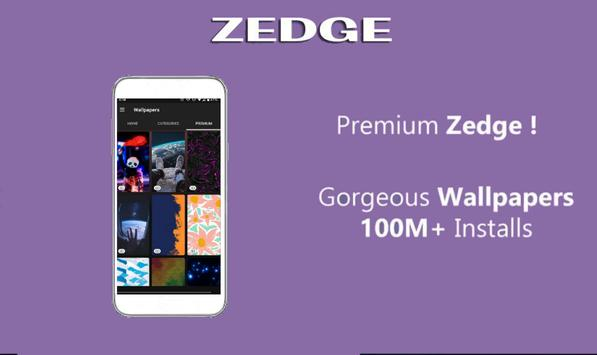 Zedgo Wallpapers & Ringtones Guide Free poster
