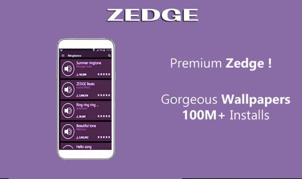 Zedgo Wallpapers & Ringtones Guide Free screenshot 1