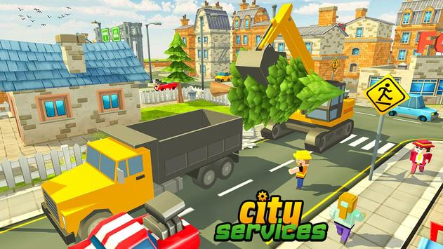 Blocky Vegas City Rescue Services screenshot 1