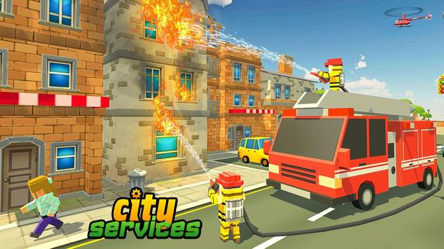 Blocky Vegas City Rescue Services screenshot 3