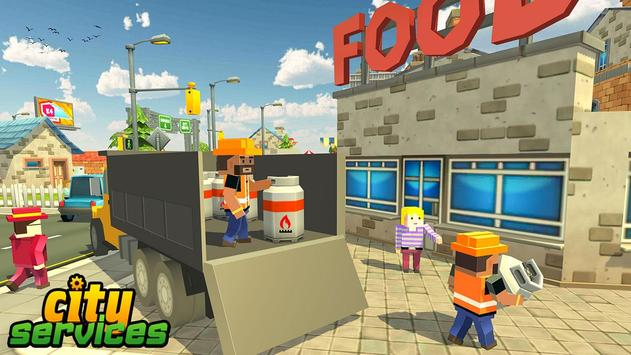 Blocky Vegas City Rescue Services screenshot 4