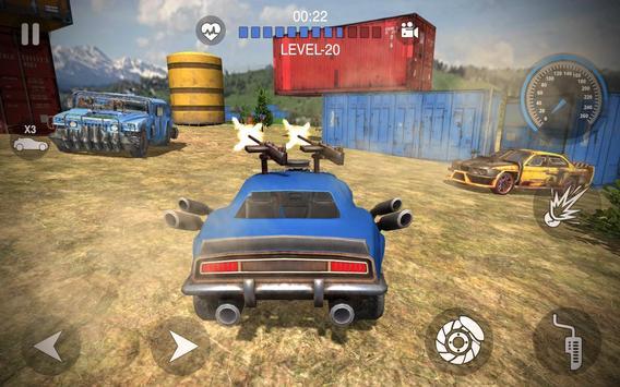 Player Car Battleground - Free Fire poster
