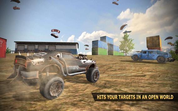 Player Car Battleground - Free Fire screenshot 1
