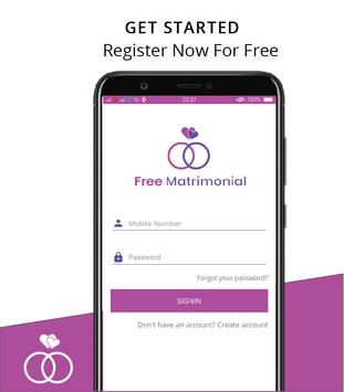 Free Matrimonial screenshot 1