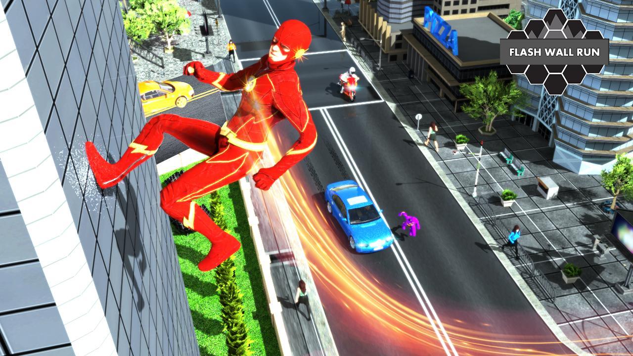 The Flash Superhero Game Online