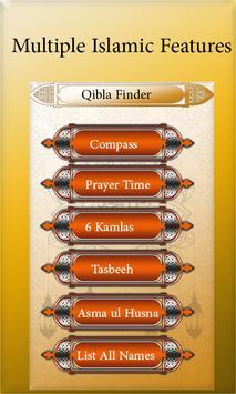 Accurate Qibla Finder: Prayer Times, Mecca finder screenshot 8