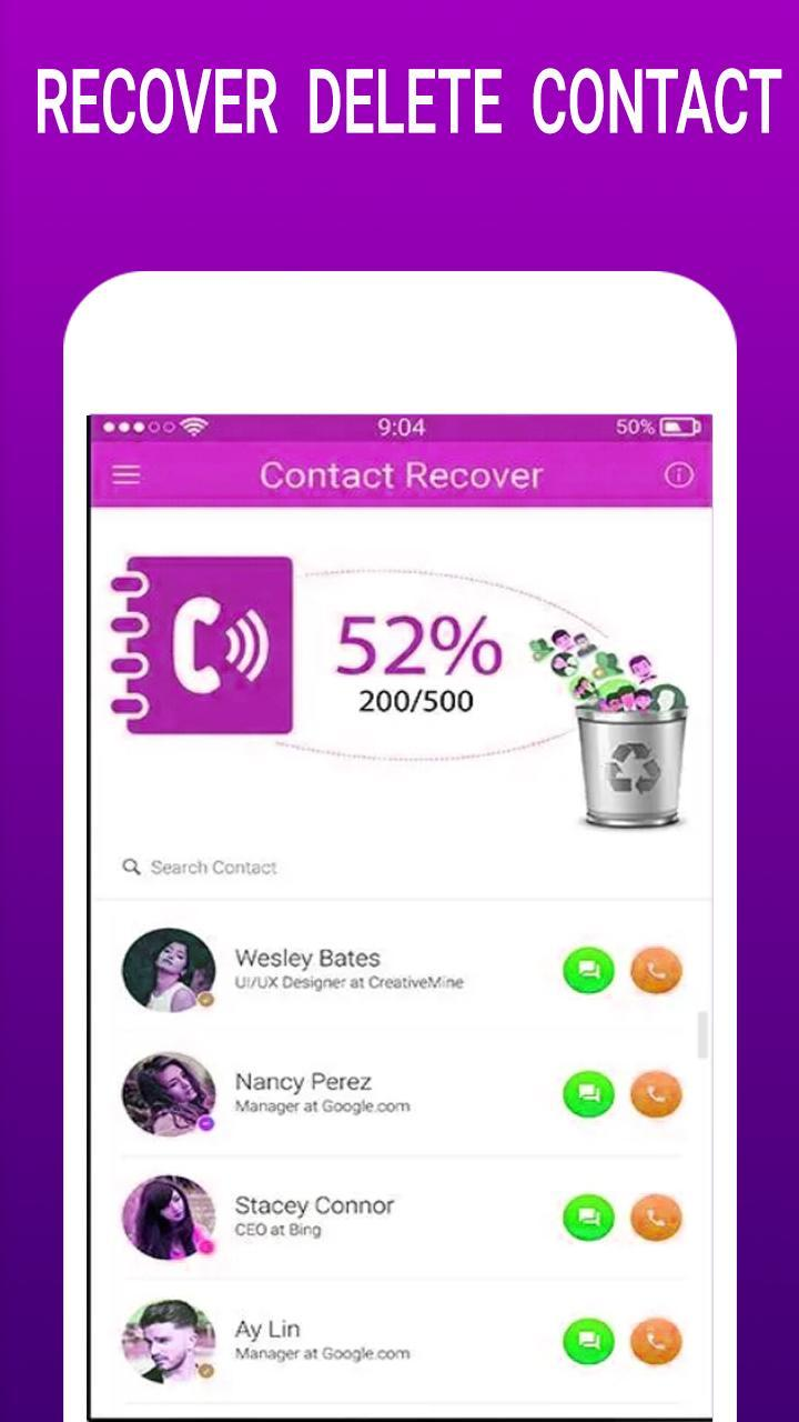Contact Recovery Pro 2019 For Android Apk Download