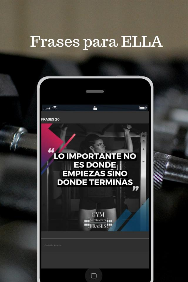 Frases De Motivacion Gym For Android Apk Download
