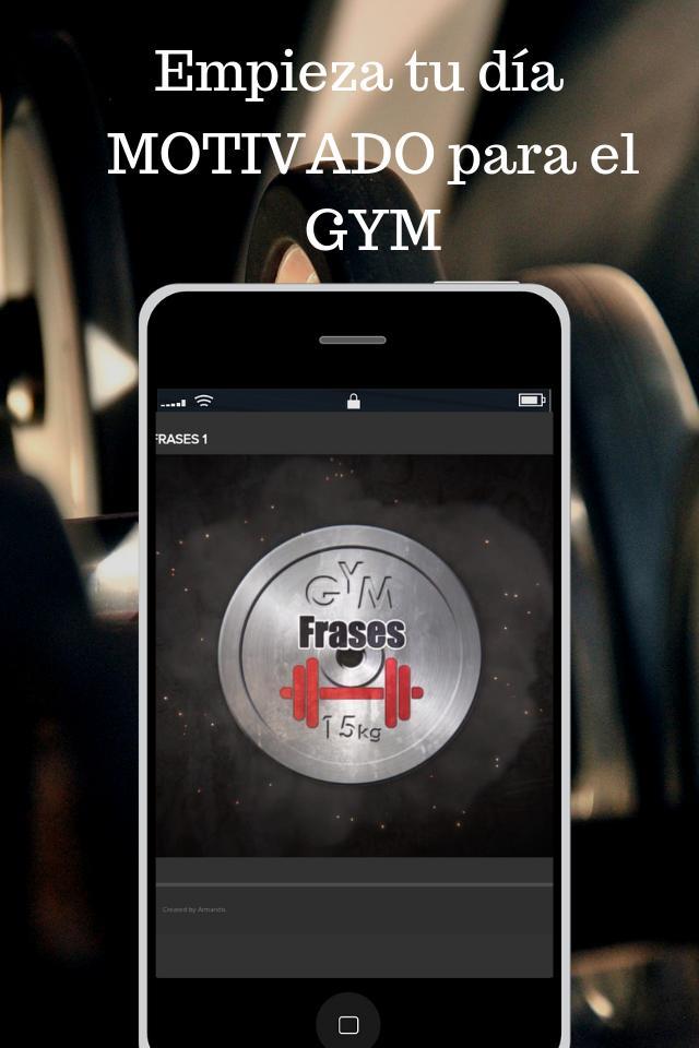 Frases De Motivacion Gym For Android Apk Download