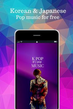 kpop music radio fm live poster