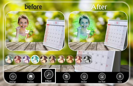 Calendar Photo Frames screenshot 2