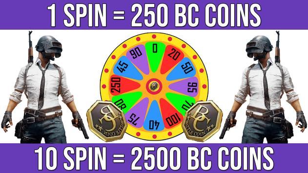 Spin And Win Bc Pubg Lite