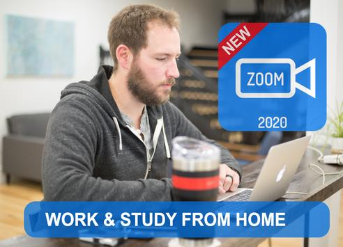 Free ZOOM Online Video Meeting 2020 Astuces poster