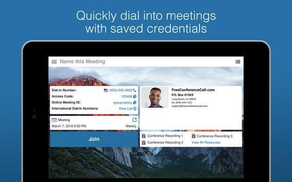 Free Conference Call screenshot 13