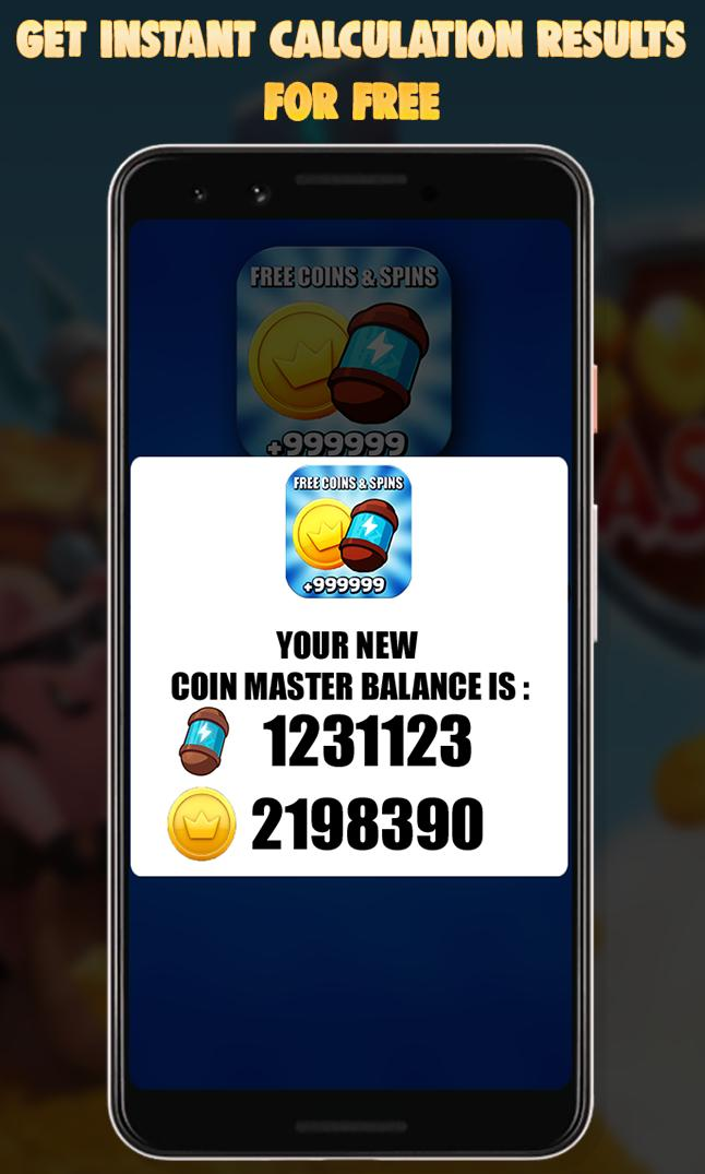 Free Coins And Spins Calc For Coin Master - 2019 for Android