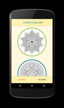 Poster Free Mandala Coloring Book