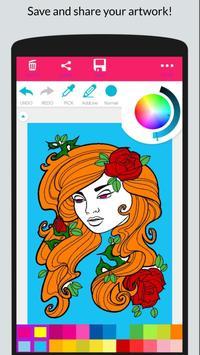Happy Coloring - Girls Coloring Book screenshot 3
