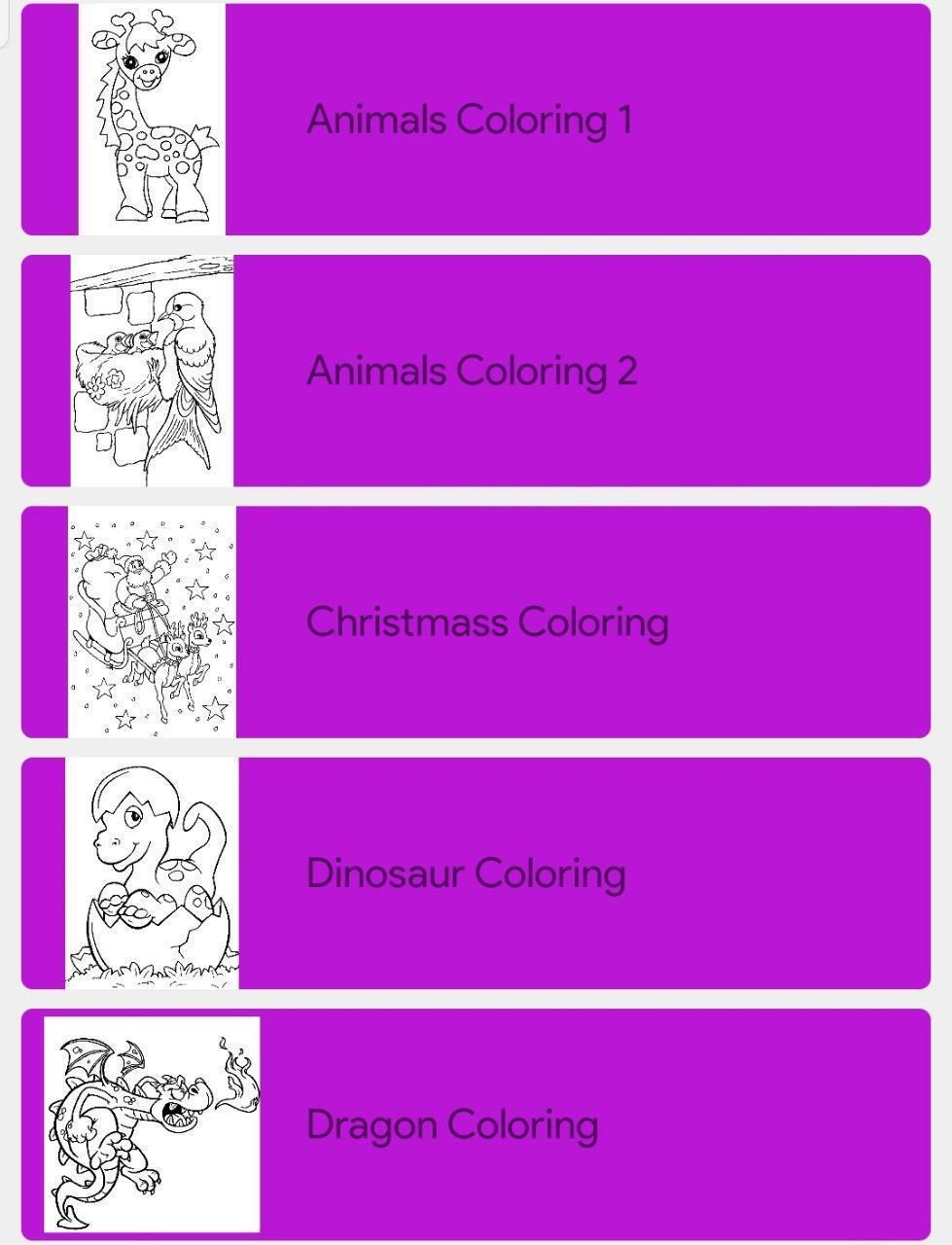 Juegos Para Colorear Para Niños Gratis For Android Apk