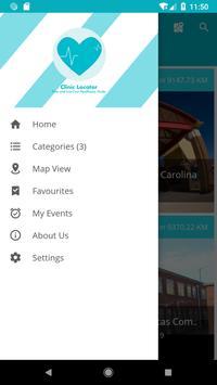 Clinic Locator screenshot 2