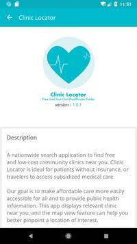 Clinic Locator screenshot 4
