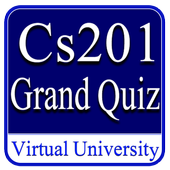Cs201 Grand Quiz Virtual University icon