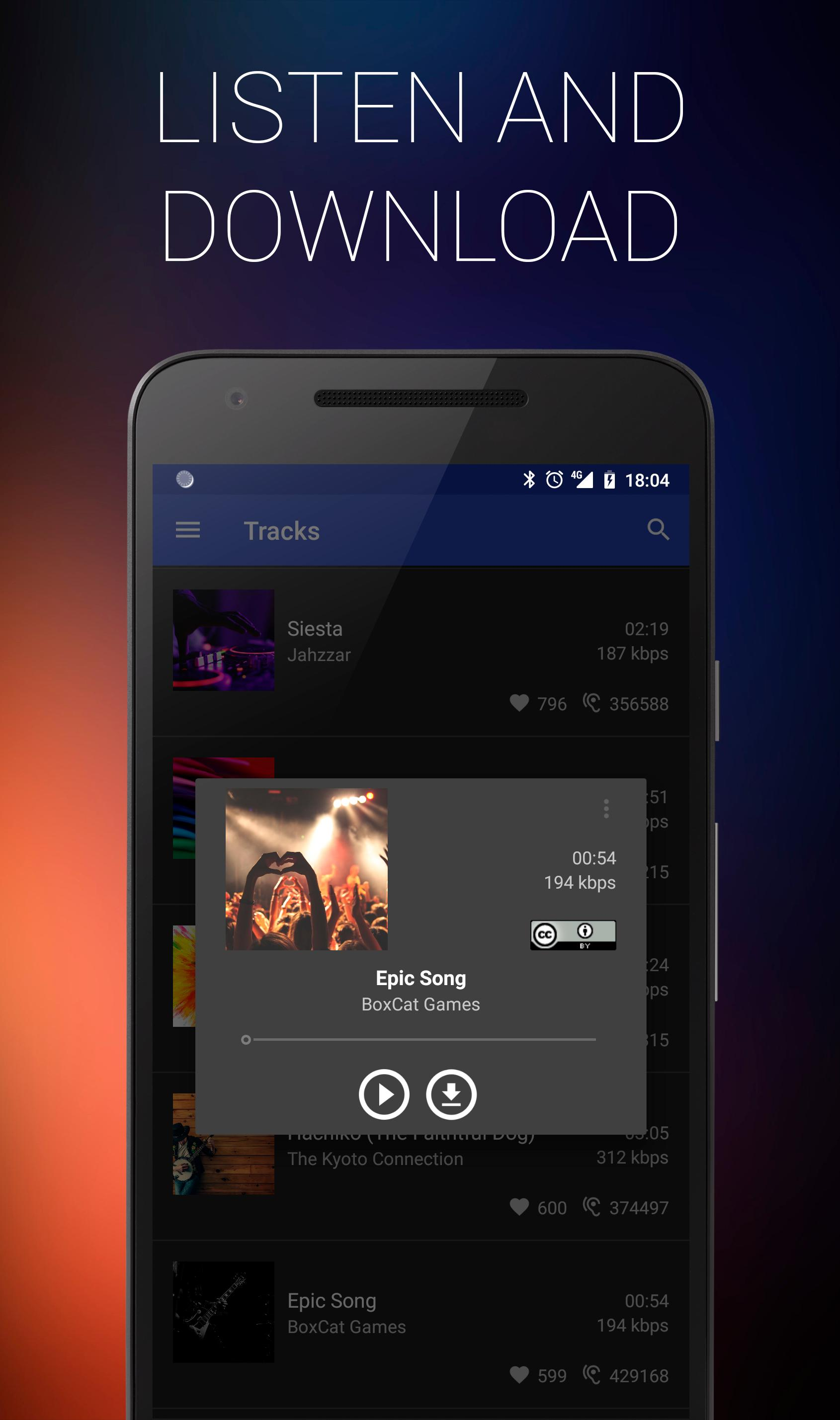 free music download sites for android
