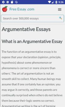 Free Essays, Research Papers, Term Papers screenshot 4