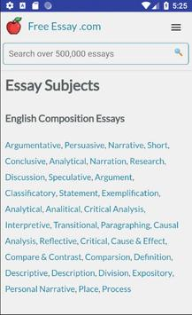 Free Essays, Research Papers, Term Papers screenshot 8
