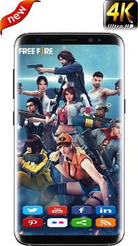 Best Free Fire HD Wallpapers 2019 poster