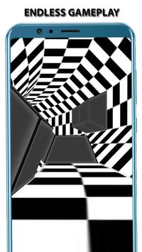 3D Tunnel Hypnotize Game - Infinite Rush Game Free screenshot 2