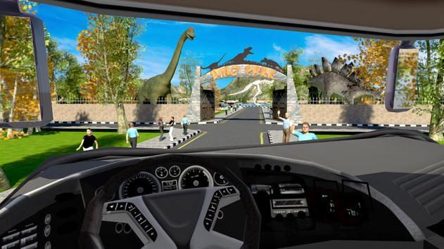 Dinosaur Park: Tour Bus Driving screenshot 4