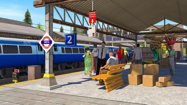 Indian Train Simulator Plakat