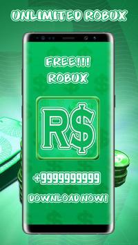 Free Robux Unlimited Money Adder 2019 Advice Pro screenshot 1