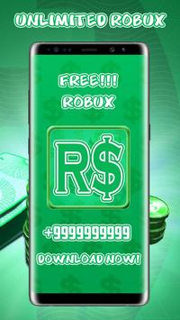 Free Robux Unlimited Money Adder 2019 Advice Pro screenshot 4