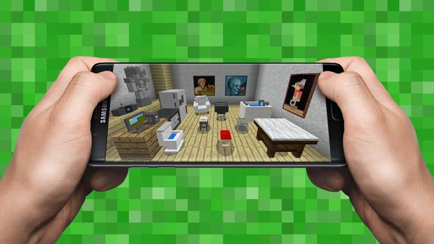 Furniture Mod for Minecraft PE poster