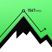 高度計GPS‐ハイキングGPS アイコン