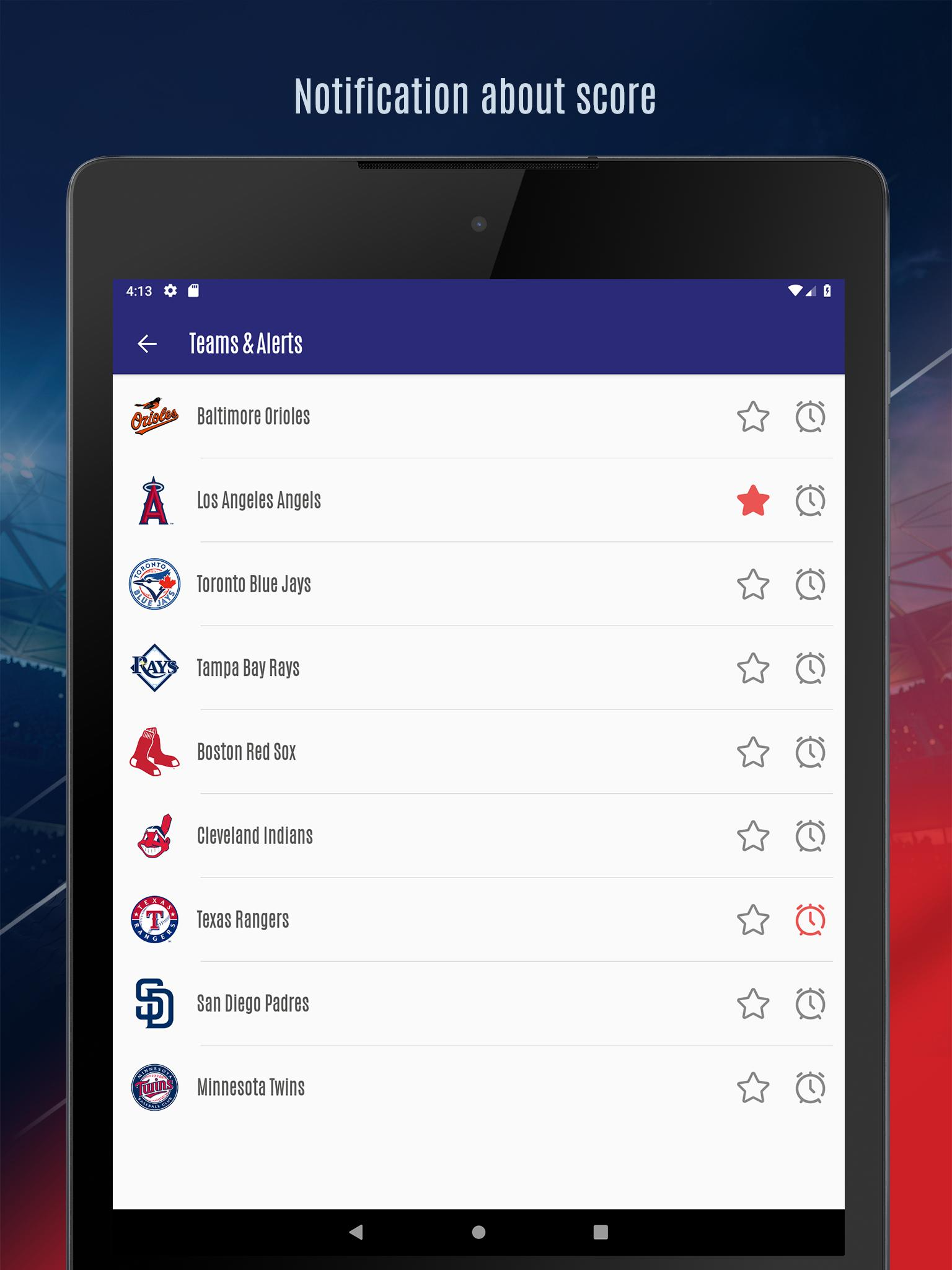 MLB Scores, Standings & Schedule 2019 for Android - APK Download