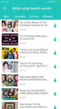 Free MP3 Downloader & MP4 to MP3 converter screenshot 1