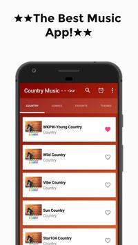 Country Music (The Best) Free Radio Online screenshot 14