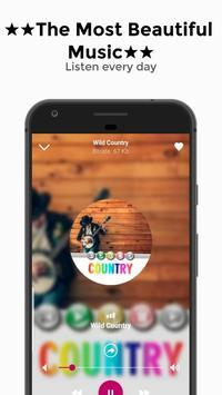 Country Music (The Best) Free Radio Online screenshot 1