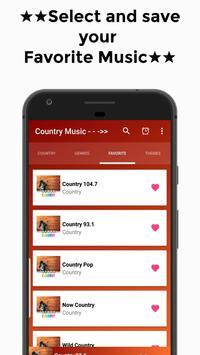Country Music (The Best) Free Radio Online screenshot 3