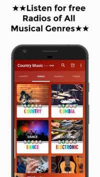 Country Music (The Best) Free Radio Online screenshot 4