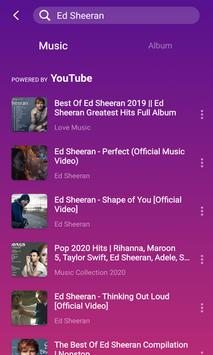 HiMusic:on&offline music player download mp3 free скриншот 3