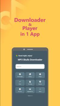 Mp3 Skulls - Free Music Mp3 Downloader poster