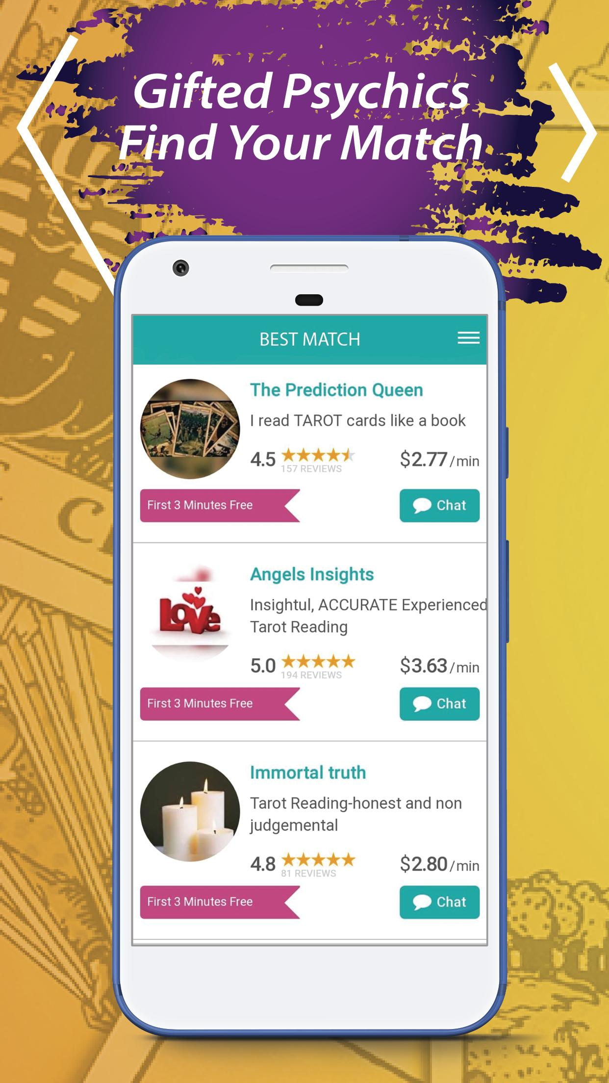 Free Psychic Reading and Tarot Card Reading for Android