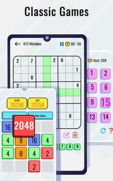 Permainan Matematik dan teka-teki - Latihan otak syot layar 2