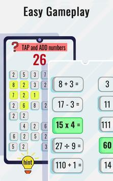 Permainan Matematik dan teka-teki - Latihan otak syot layar 4